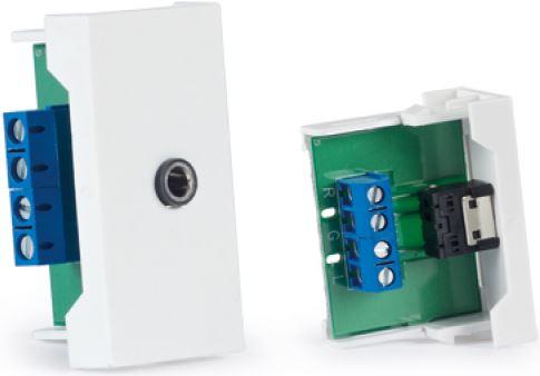Fonestar WP-33j prípojné miesto 3,5 jack stereo samica s veľkosťou 1/2 module