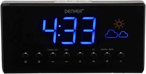 Denver CR-718 - Rádiobudík s FM rádiom a meteostanicou