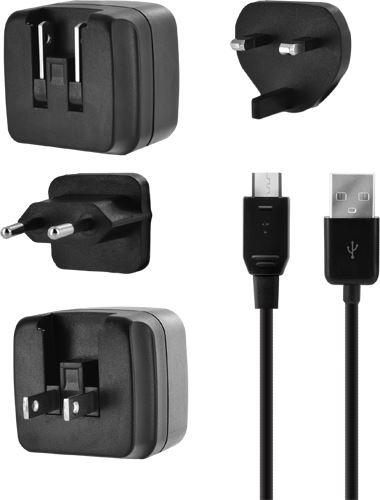 BIGBEN TRAVELCHARGER3A - univerzálna cestovná nabíjačka 3.4a s micro USB káblom
