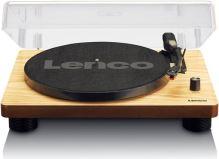 Lenco LS 50WD - gramofón s USB a 2 vstavanými reproduktormi, drevo
