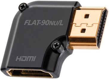 Audioquest HDMI adaptér 90 ° Nu / L- otočenie vľavo HDMI samec-HDMI samica
