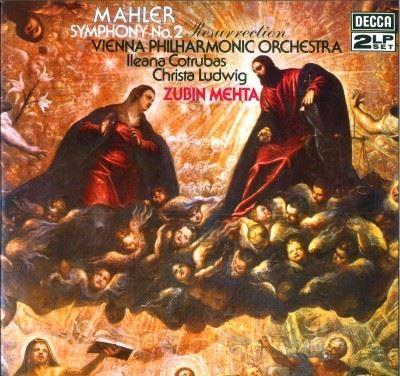 LP Gustav Mahler - Symphony N ° 2