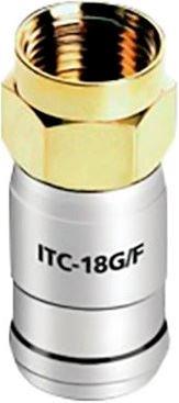 Audioquest F konektor pre kábel 18 AWG ITC-18G / F50