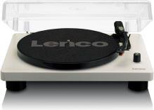 Lenco LS 50GY - gramofón s USB a 2 vstavanými reproduktormi, šedá