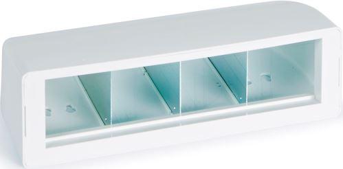 Fonestar WPB-4 inštalačný krabička na / pod stôl o veľkosti 4 modulu