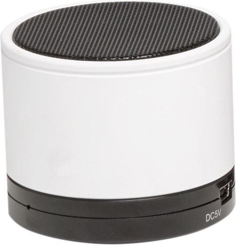 Denver BTS-21WHITE - Prenosný Bluetooth reproduktor