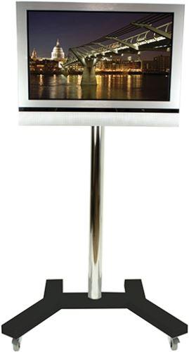 BT 7504 - Vozík pre LCD strieborný