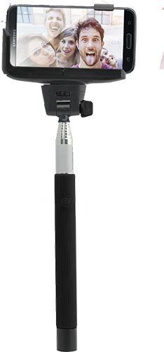 BIGBEN SELFIESTICKBLACK - bluetooth selfie tyč