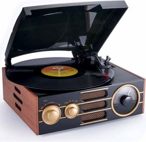 BIGBEN TD101- gramofón ART DECO