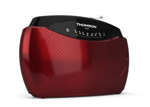 Thomson RT223 - prenosné rádio FM / AM - červené
