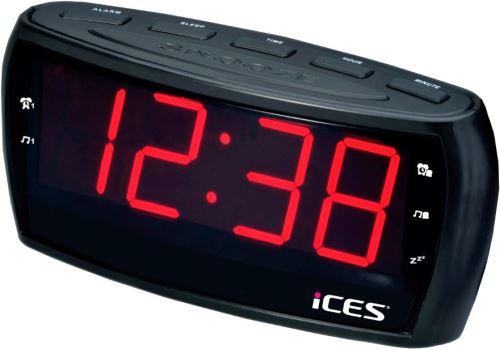 Lenco ICR-230-1 Black- rádiobudík