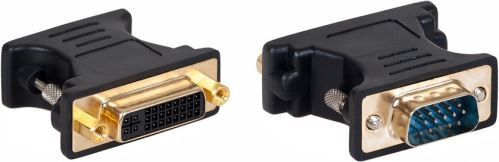 AQ KV104 - adaptér VGA (D-sub) M - DVI F