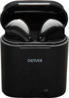Denver TWE-36BLACKMK3 - bezdrôtová bluetooth slúchadlá čierna