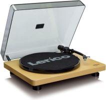 Lenco L 30 - gramofón s USB výstupom drevo