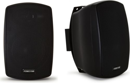 "Fonestar Elipse-4T - Pair LOUDSPEAKERS 4 ""100V black"