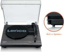 Lenco LS 10 - black, Gramofón s vstavanými reproduktormi