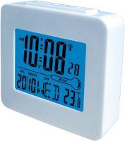 Denver REC-34WHITE Digitálny budík rádiom riadený, biely