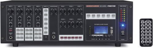 Fonestar MAZ-6600RU Zosilňovač 6x100W