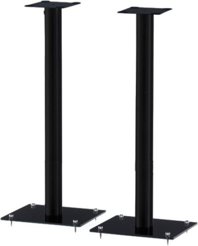 SP 101B - HBLK - 80cm stojan repro čierne sklo - čierna trúbka
