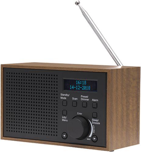 DENVER DAB-46 DARK GREY - Digitálne rádio DAB +
